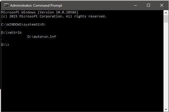 Cara Hapus Virus Dari Setiap Drive Menggunakan Command Prompt (CMD) Pada Windows 10