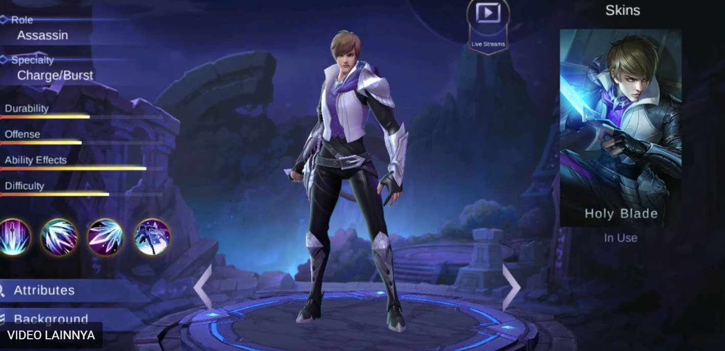 2 Hero Support Dan Assasin Mobile Legends Baru Ini